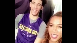 Lonzo Ball Flirted With Fine Reporter Before His NBA Debut As She Teases Him On His Interviews ✔