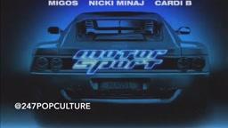 LISTEN Nicki Minaj & Cardi B verse on Migos Motorsport song