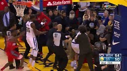 Full Draymond Green vs Bradley Beal Fight!