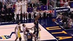 Donovan Mitchell DESTROYS Lonzo Ball on VICIOUS PUT BACK Dunk!
