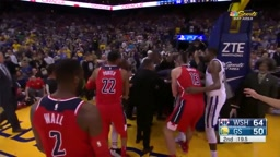 AP REACTS Draymond Green and Bradley Beal EJECTED after FIGHT Warriors vs Wizards (NBA2K18 GIVEAWAY)