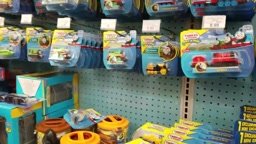 Shopping at TOYS R US for NEW Thomas and Friends Toy Trains Family Toy Shopping Spree