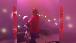 WEIRD!! Kodak Black SHAKES Little Boy HEAD Around on Stage During Live Concert