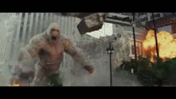 Rampage Movie Trailer Starring Dwayne The Rock Johnson