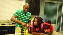 SOUR PATCH Kids EXTREME Challenge with SOUR LEMONADE Winner WINS 20 BUCKS! #SoInloveFamily