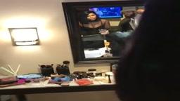 Tamar Braxton singing  Blind  live (Soul Train Awards )   backstage