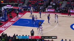 Golden State Warriors vs Detroit Pistons 1st Half Highlights   Dec 8, 2017   NBA Season 2017 18