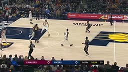 Cleveland Cavaliers vs Indiana Pacers   1st Half Highlights   Dec 8, 2017   NBA Season 2017 18