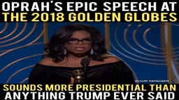 Oprah's Epic Speech at Golden Globes awards