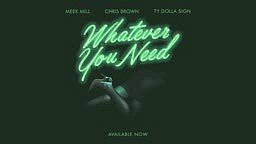 Meek Mill Whatever You Need (feat. Chris Brown and Ty Dolla $ign) [OFFICIAL AUDIO]