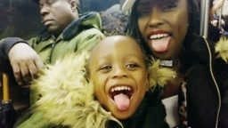 dangerusdiva mom and baby josiah New york train ride #Soinlovefamily