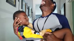 Uncle Ap BREAKS DOWN CRYING after seeing nephew Xavier's BROKEN NOSE