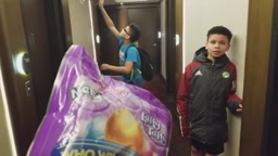 SOINLOVEFAMILY HOST EASTER EGG HUNT in 5 Bedroom Hotel Suite Winner gets Shopping SPREE @Walmart