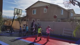 SOINLOVEFAMILY play BASKETBALL KNOCKOUT CHALLENGE All Star Weekend