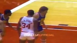 Back when all the NBA Superstars would get into FIGHTS