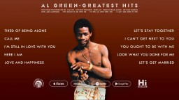 The Best of Al Green Greatest Hits (Full Album Stream) [30 Minutes]
