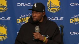 Kevin Durant speech on why he doesn't trust the media