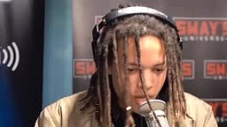"Son Of Ti ""Domani Harris"" Freestyle On Sway In The Morning  Must See"
