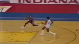 Michael Jordan-USA v NBA Stars 1984