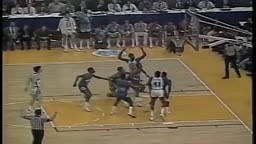 Michael Jordan's game winner vs. Georgetown (1982)   FINAL MINUTE