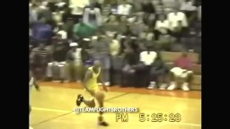 RARE Vince Carter UNSEEN HIGH SCHOOL DUNK MIXTAPE!