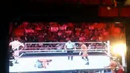 WWE Monday night Raw September 17