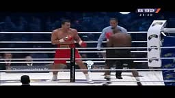 Klitschko vs Mormeck 4th Round Ko