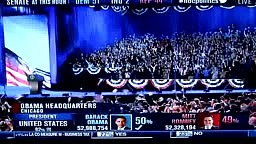 President Obama Victory Speech Chicago 2012 Election PART 1