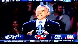 President Obama Victory Speech Chicago 2012 Election PART 2