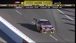 Jeff Gordon and Clint Bowyer Fight in Pit