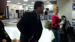 Drunk Texas A&M Fan Fights Black Guy at Airport