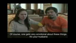 Manny Pacquiao And Wife Crying On Interview Re Post