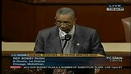 Congressman Bobby Rush Kicked off House Floor for Hoodie