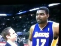 Andrew Bynum Cusses on Live Tv