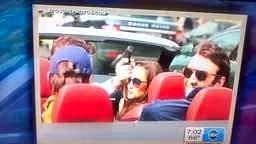 Pippa Middelton's Driver Points Gun at Paparazzi