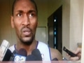Metta World Peace Discusses Elbow to James Harden's Head