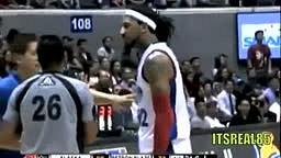 Renaldo Balkman Chokes Teamate (SPOOF FUNNY)