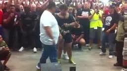17 year old Matt Poursoltani 700 pound bench press