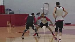 Derrick Rose Practicing With The Bulls Do you think he is ready For The 2013 Playoffs?