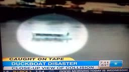 Duckboat Disaster Caught on Camera