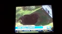 Sink Hole Horror, House in Florida Sinking