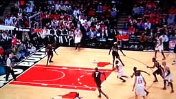 Nate Robinson Dunks vs Heat