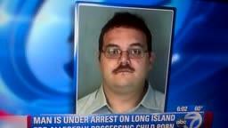 Man Arrested for Possessing Child Pornography