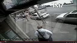 Surveillance Footage Of 2 Chainz Running Getting Robbed