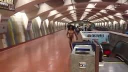 16th st Bart Naked Man Attacks Riders