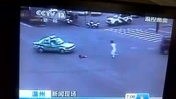 Baby Falls out of Moving Car