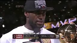 Lebron Post Game Interview i dont worry bout what people say