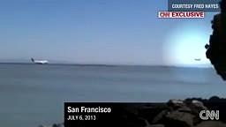 Man catches 777 san francisco plane crash on video camera