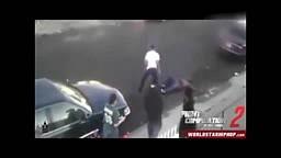 STREET FIGHT COMP :: Thug gets KO'd, Mini Street Brawl, Dude