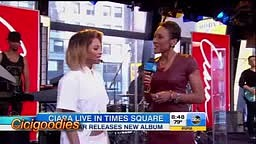 Ciara - I'm Out (Live On Good Morning America)